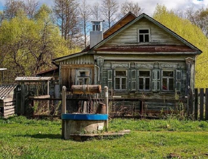 Главный «бытовой» источник воды в русской деревне.