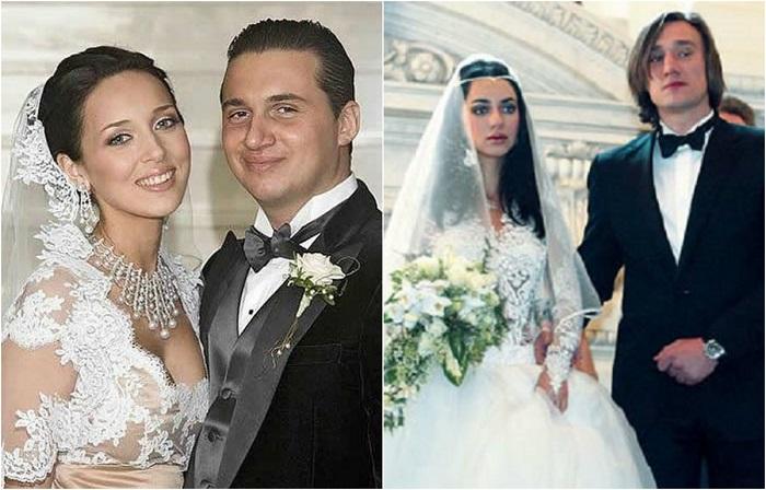 Фотографии свадеб российских знаменитостей.