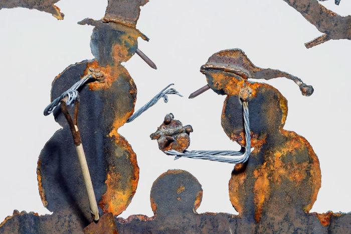 Синди Д. Чинн (Cindy D. Chinn) – талантливая художница из маленького городка Честер в штате Небраска (США).