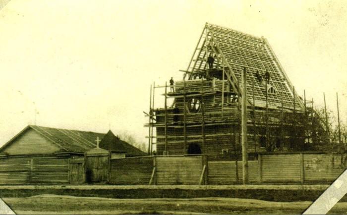 Строительство костела закончилось во второй половине 1917 года.