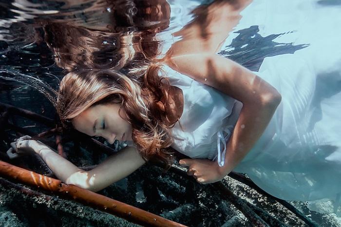 Красивые подводные фотографии.