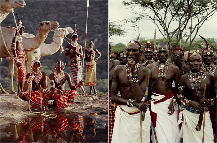 Африканское племя Самбуру.