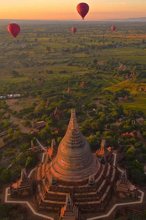 Столица первого государства на территории Мьянмы.