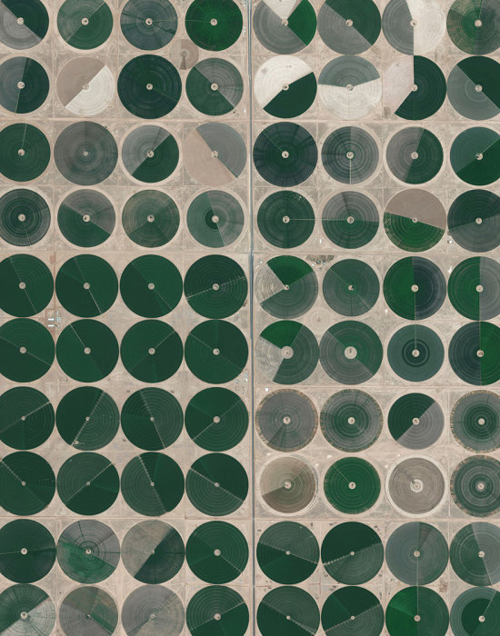 Централизованное орошение используется по всей Саудовской Аравии.