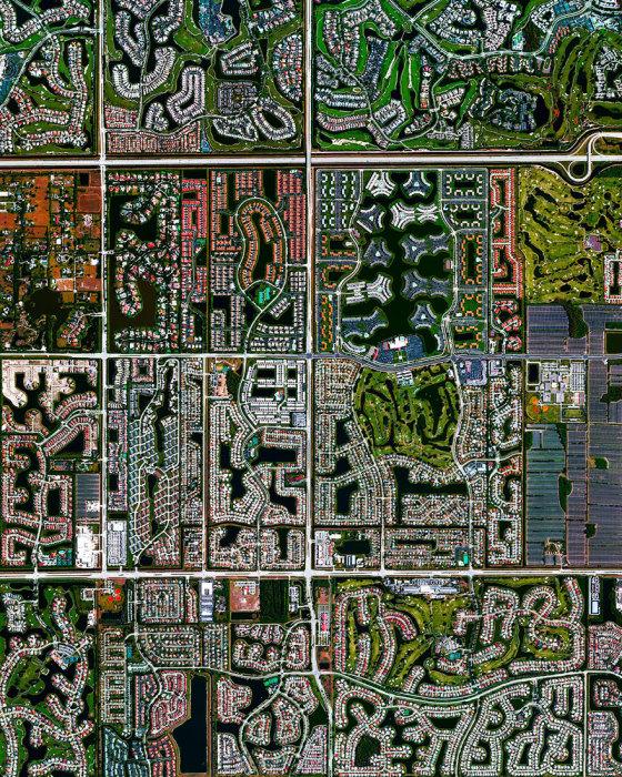 Небольшой жилой комплекс на юго-восточном побережье штата Флориды.