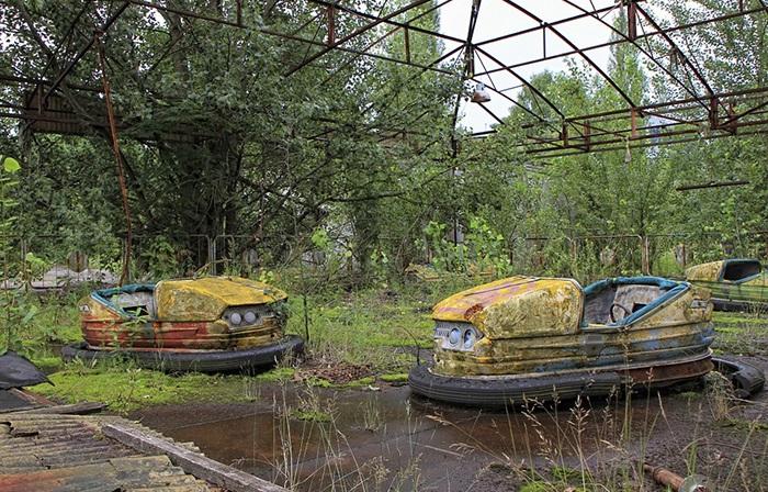 Чернобыль - зона отчуждения.