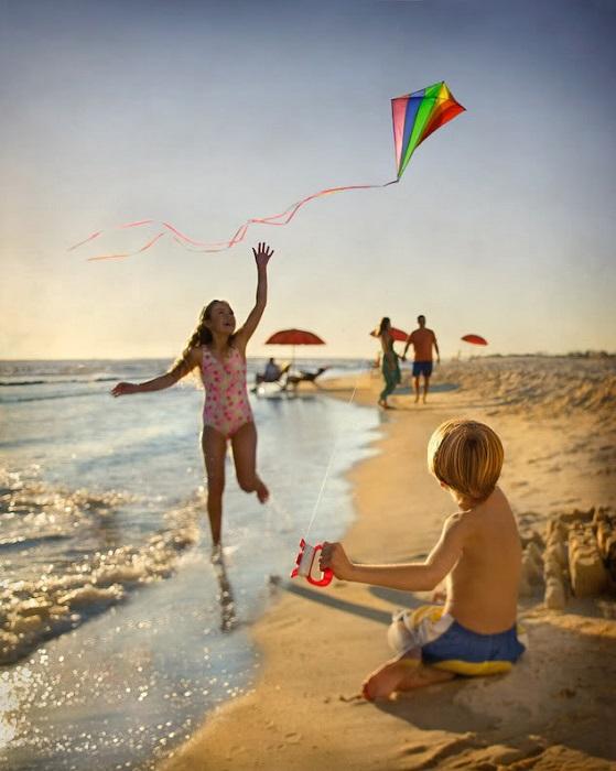 Детское непринуждённое счастье. | Фото: funfix.agairri.ru