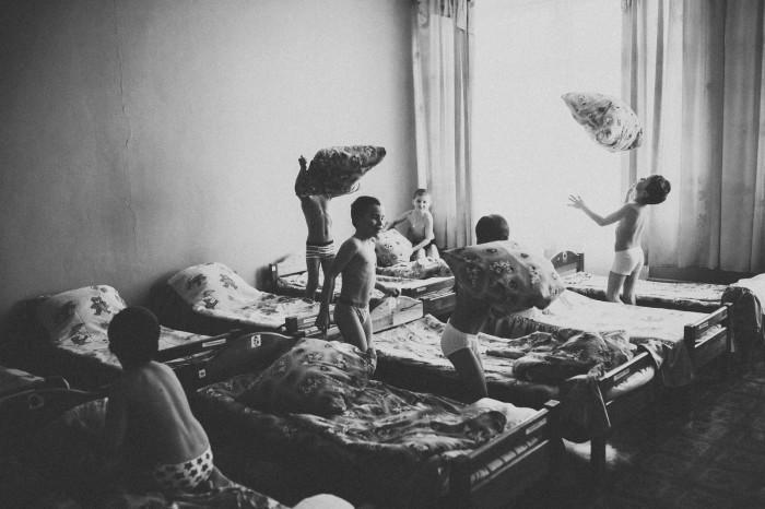 Драка подушками в детском саду. Автор фотографии:Олеся Турукина.