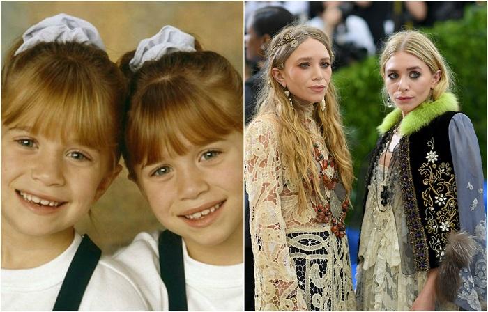 Американские актрисы, певицы, очаровательные близняшки наиболее известны своими детскими ролями «Двое: я и моя тень», «Паспорт в Париж».