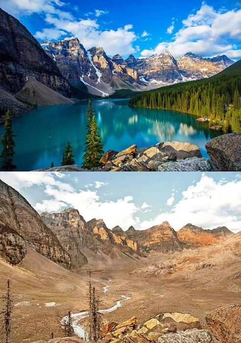 Старейший парк на территории Канады и один из красивейших мест на нашей планете во время полной засухи.