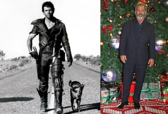 62-летний американо-австралийский актер отрастил бороду, но остается таким же энергичным, как и в молодости.
