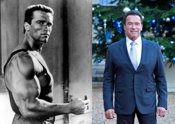 Постаревший актер до сих пор находится в превосходной физической форме.