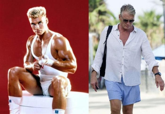 Профессиональный каратист и актер фильмов стиле «экшн» в 60 лет имеет спортивную и подтянутую фигуру.