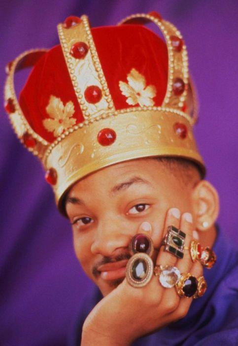 Американский актёр и хип-хоп исполнитель в роли короля перстней.