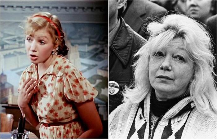 В советской кинокомедии популярная актриса исполнила роль техника - строителя Кати Синцовой.