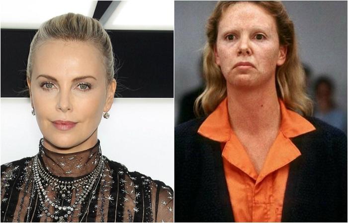 К роли о настоящей женщине-убийце актриса готовилась по ее дневникам, которые Эйлин Уорнос написала будучи в тюрьме.