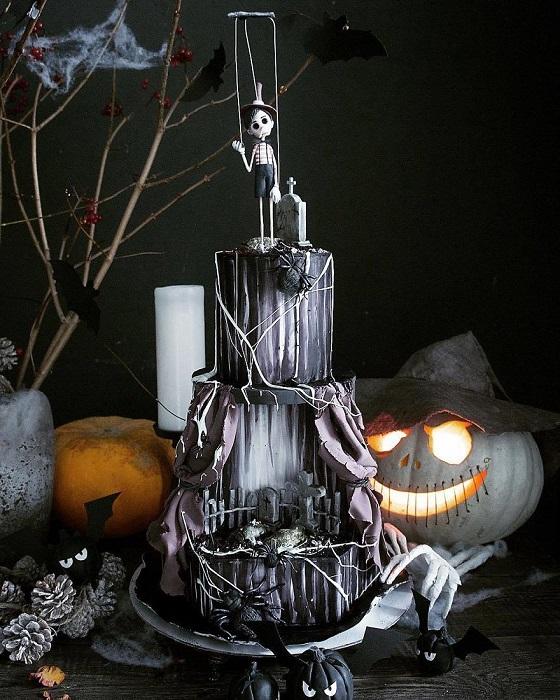 Самый крутой торт, что можно придумать на вечеринку.