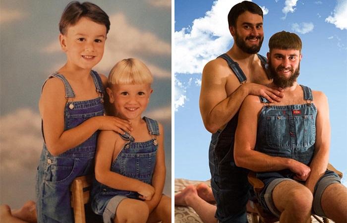 Снимки, которые расскажут разные истории из детства.