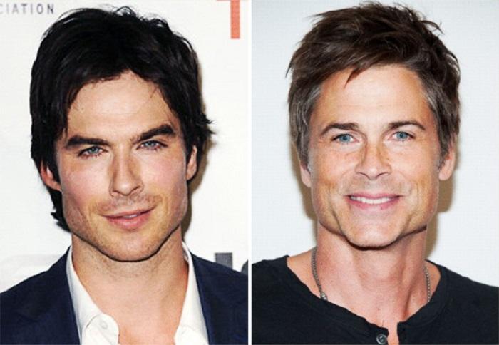 Фантастическое сходство американских актёров.