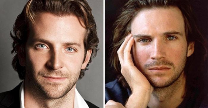Удивительное сходство между американским и британским актёрами.