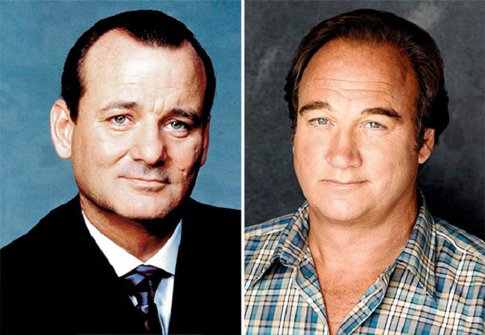 Невероятное сходство между двумя американскими актёрами, которые даже не родственники.