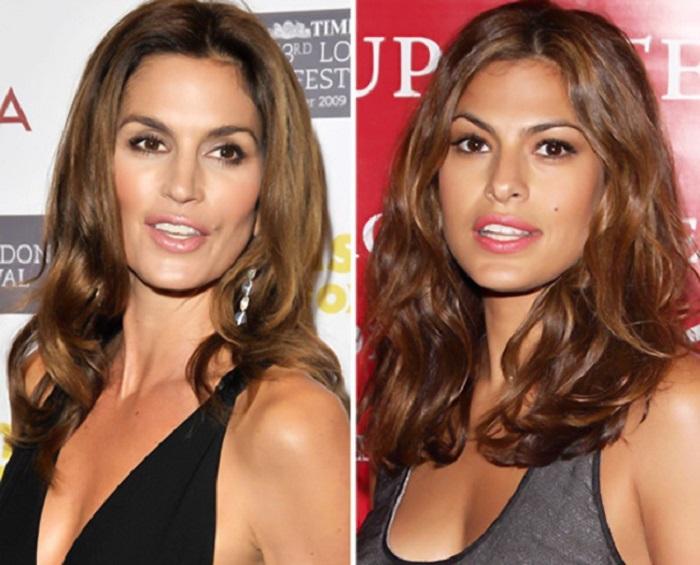 Поразительное сходство американской супермодели с американской актрисой.
