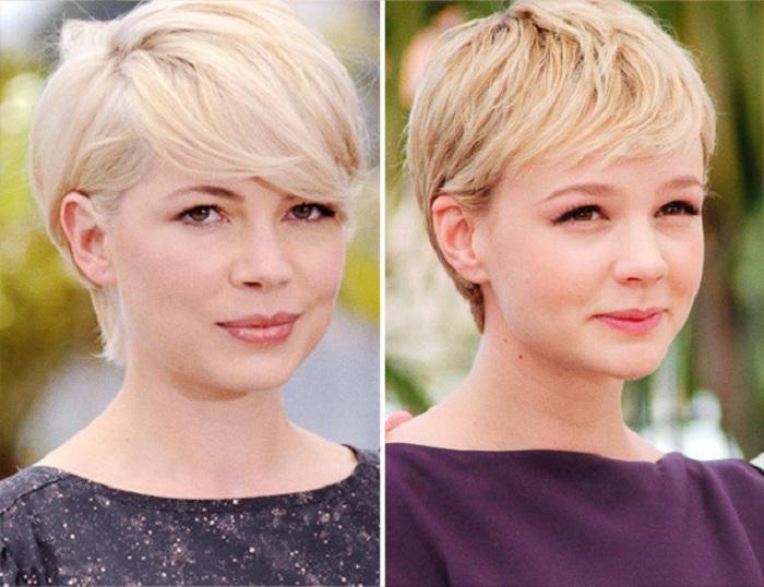 Схожий типаж во внешности американской и британской актрис.