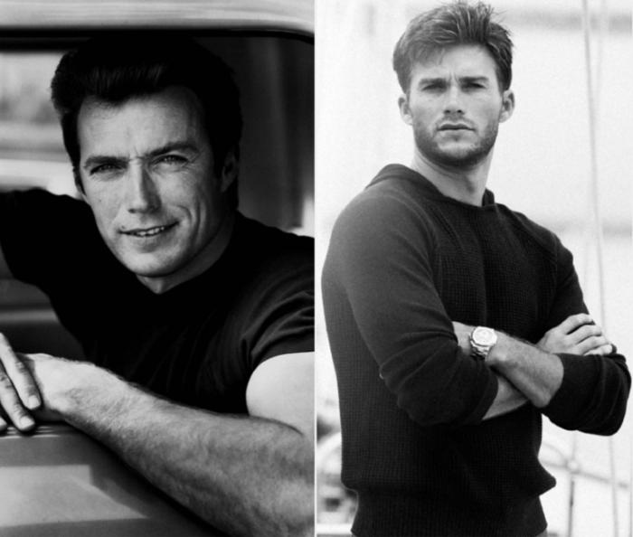 Американский актер в молодости был очень красивым мужчиной, но по привлекательности красавчик Скотт легко превзошел своего отца.