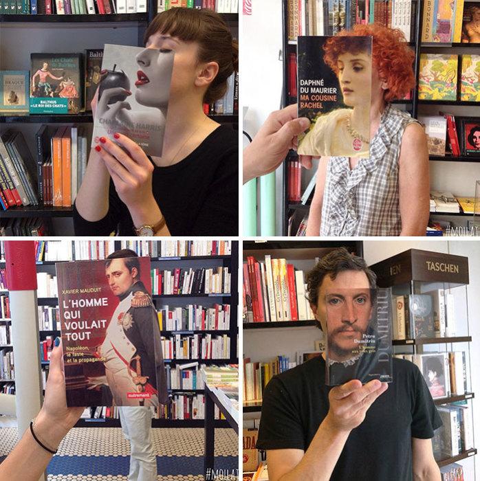Оказывается, в книжных магазинах работают невероятно творческие люди с неисчерпаемой фантазией.