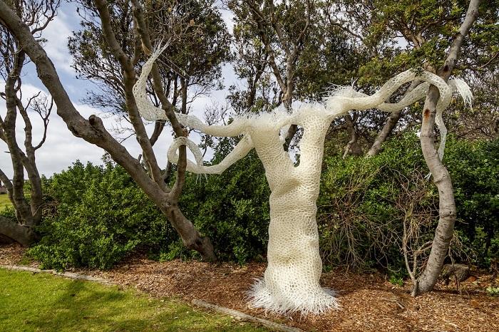 Скульптура австралийских художников Римы Забане и Беренис Рариг. Автор фотографии: (Jessica Wyld) Джессика Уилд.