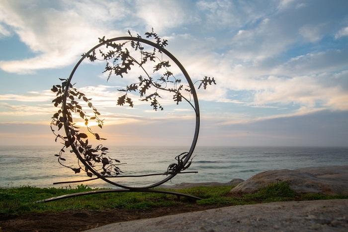 Великолепное произведение австралийского скульптора Стивена Хогана. Автор фотографии: (G. Carr) Г. Карр.