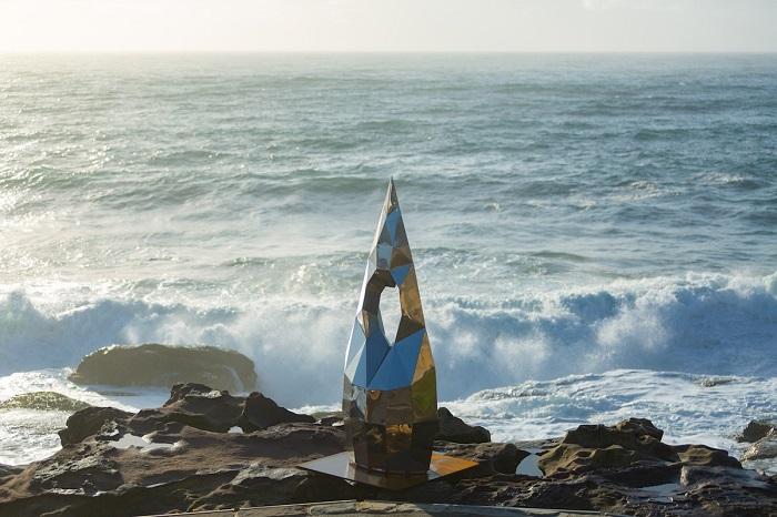 Произведение австралийского скульптора Пенелопы Форлано. Автор фотографии: (G. Carr) Г. Карр.