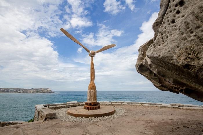 Скульптура австралийского мастера Майкла Перди. Автор фотографии: (Charlotte Curd) Шарлотта Гурд.