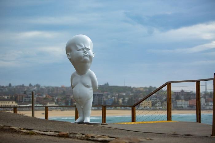 Статуя словацкого скульптора Виктора Фрезо. Автор фотографии: (G. Carr) Г. Карр.