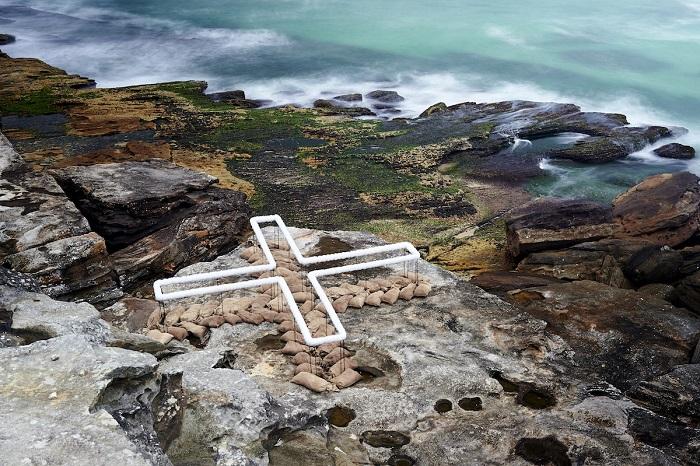 Работа австралийского скульптора Венди Тикеля. Автор фотографии: (Noel Mc) Ноэль Мак.