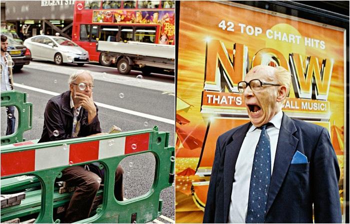 Случайные ситуации на лондонских улицах.