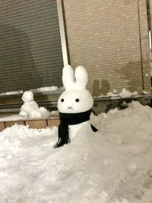 Каждое снежное творение очень недолговечно, из-за чего становится еще более прекрасным.