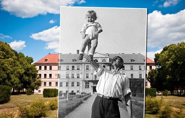 Фотопроект Золтана Кереньи (Kerenyi Zoltan) под названием «Окно в прошлое».