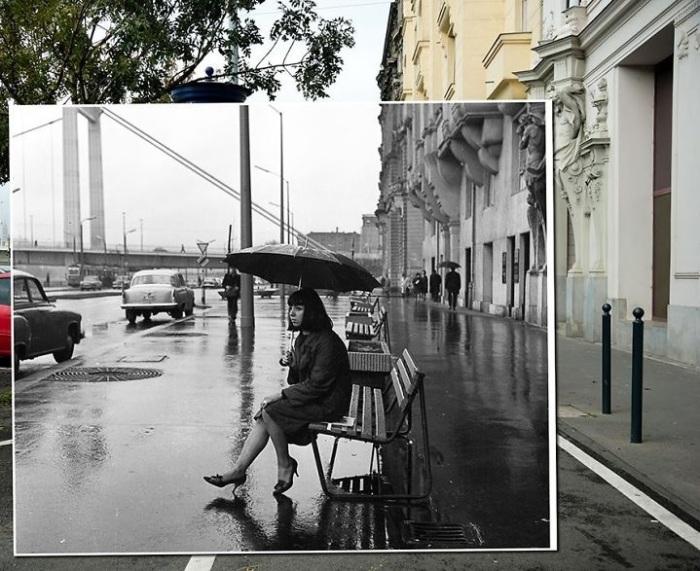 Набережная с такими великолепными видами стала настоящим символом Будапешта, главным и самым гламурным променадом столицы. 1966-2015 года.