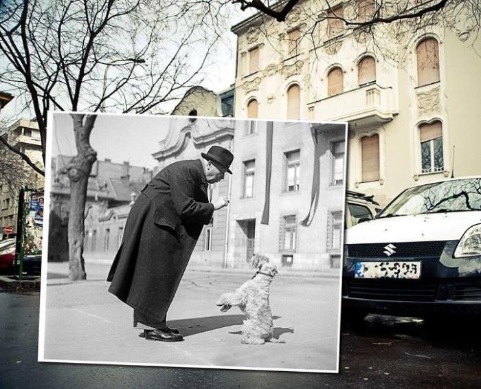 По улицам Будапешта любят гулять туристы, разглядывая архитектуру города, и с удовольствием проводят время местные жители. 1952 – 2013 года.