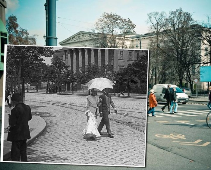 Любимое место для прогулок жителей города и туристов. 1900 – 2013 года.