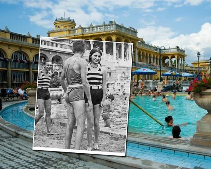 Большой банный комплекс Будапешта с термальными водами носит имя венгерского политика Иштвана Сеченьи. 1929 – 2011 года.