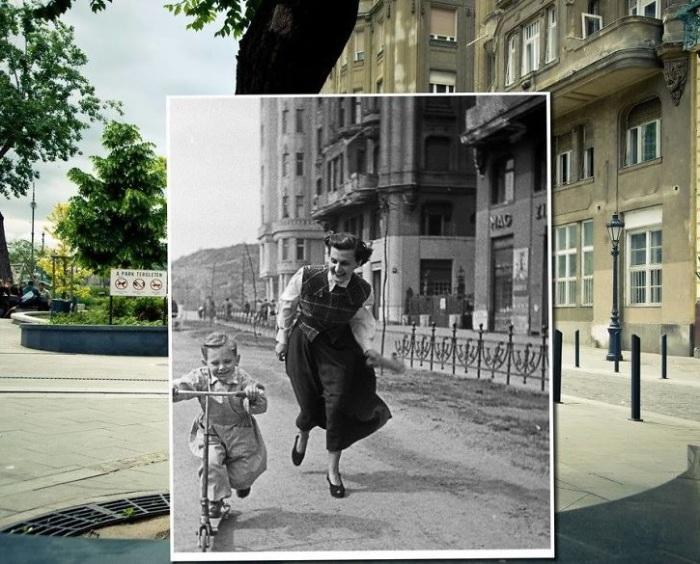 Фотопроект «Окно в прошлое» («Window to the Past») от Золтана Кереньи (Kerenyi Zoltan). 1948 – 2013 года.