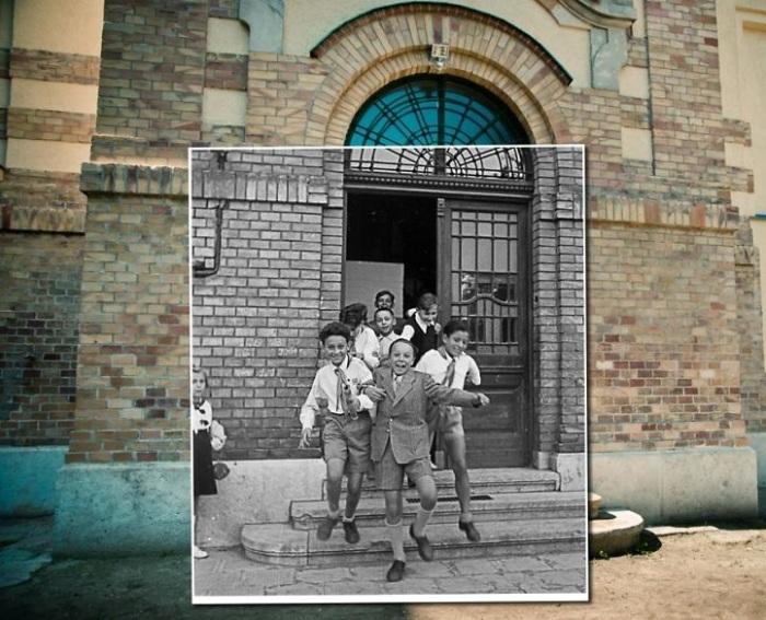В старом здании расположена школа, где учатся дети от 6 до 12 лет. 1949-2014<br>года.