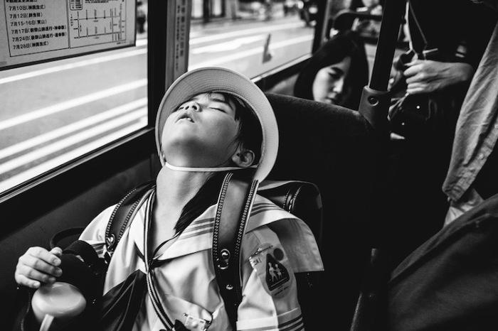Надо же было так закинуть голову и заснуть... Автор фотографии: Jian Seng Soh, Малайзия.