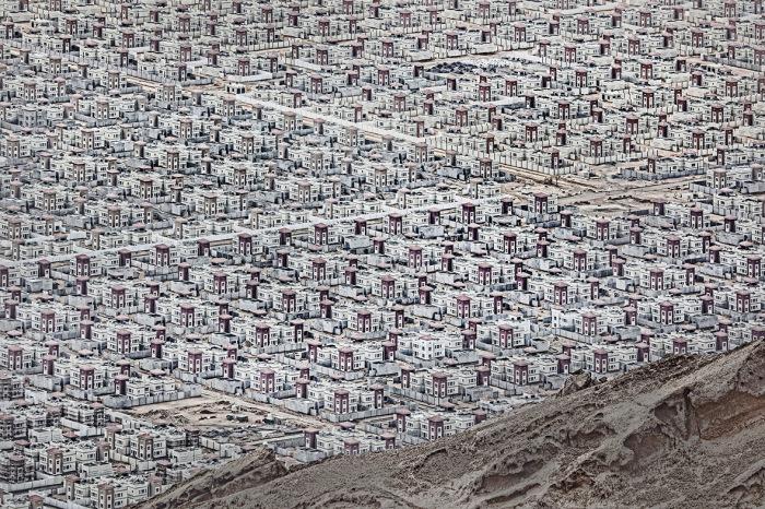 Огромное количество домов похожи на голографическую картинку, надо только присмотреться. Автор фотографии: Andrzej Bochenski, Польша.