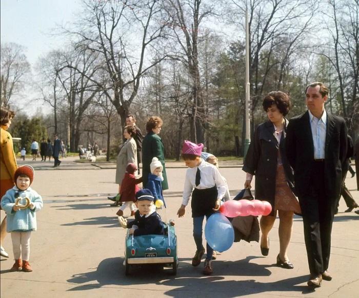 Парк «Сокольники», Москва, 1969 год.