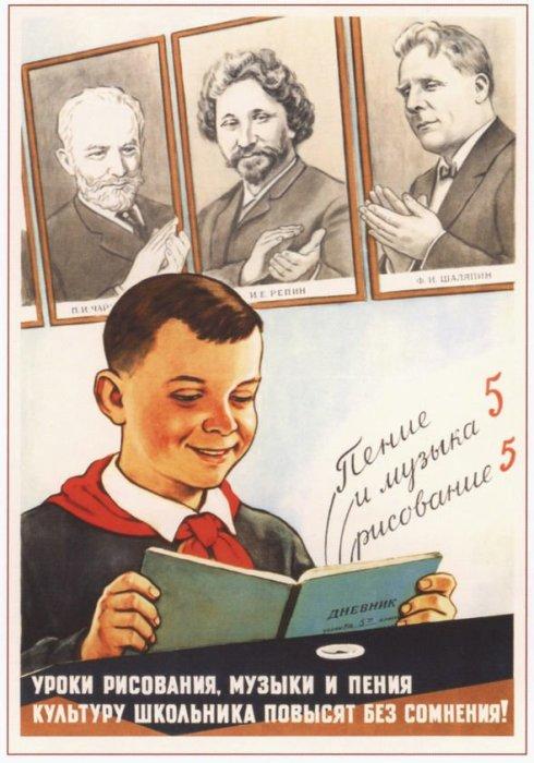 «Уроки рисования, музыки и пения культуру школьника повысят без сомнения!»