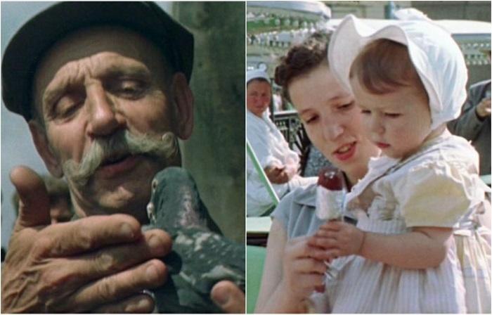 Кадры из фильма «О Москве и москвичах».
