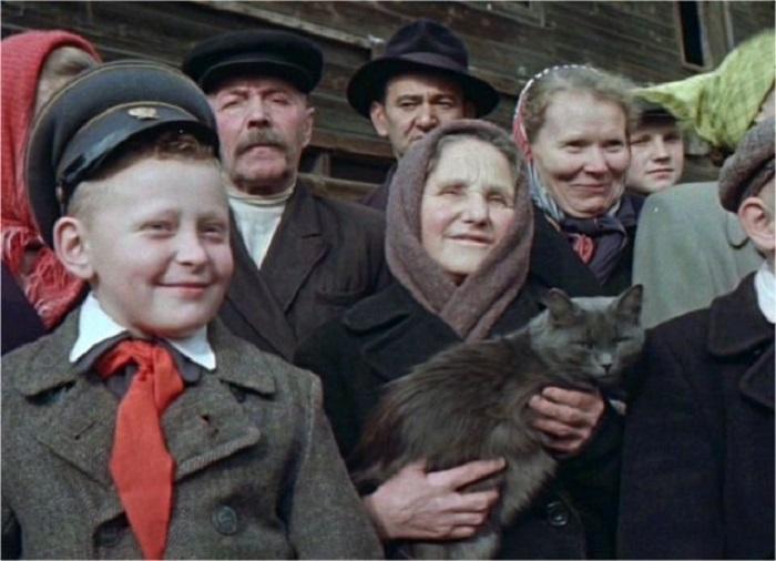 Кадр из фильма о «Москве и москвичах».